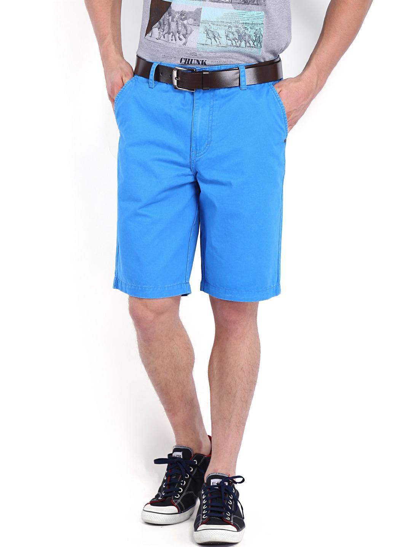 Calvin Klein Jeans Men Blue Shorts