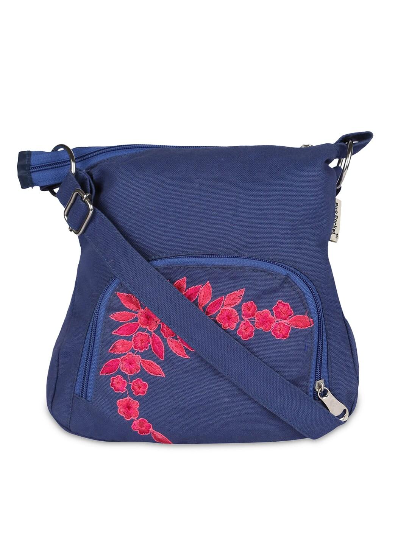 Pick Pocket Blue Sling Bag