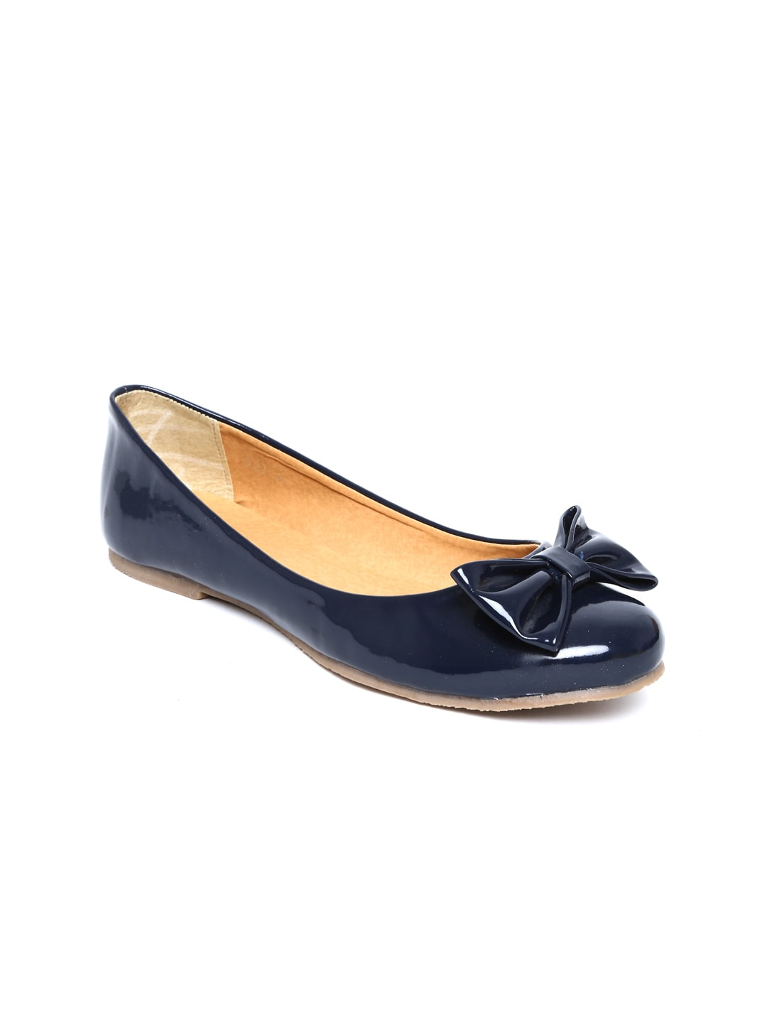 Zuicy Zuicy Women Navy Ballerinas (Blue)