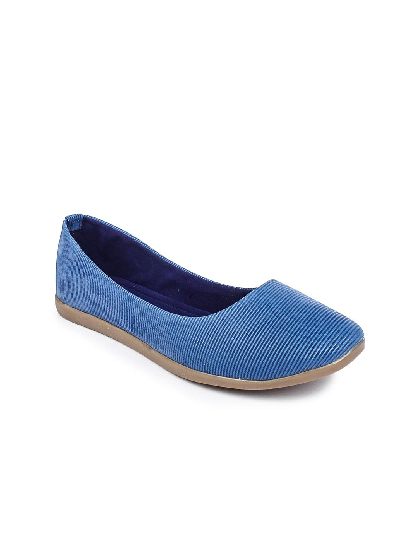 Jove Series By Jove Women Blue Flat Shoes