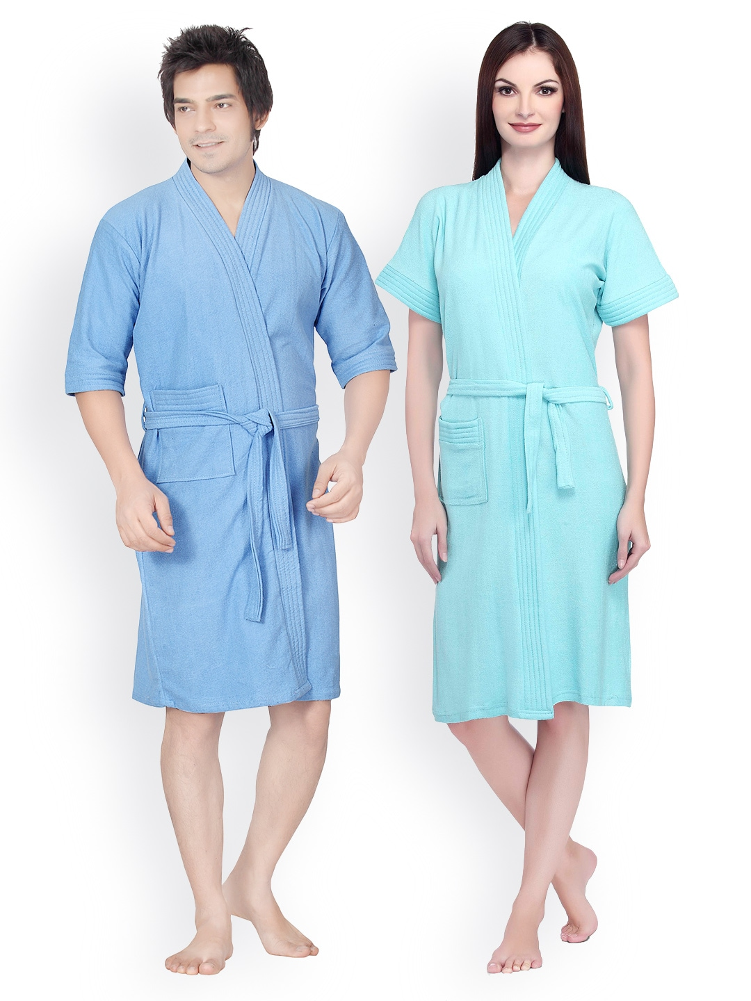 Sand Dune Set of 2 Bathrobes
