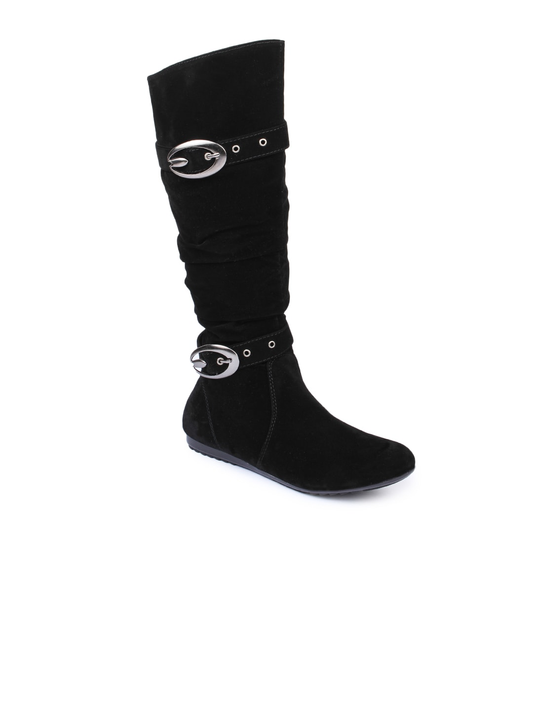 Do Bhai Do Bhai Women Black Boots
