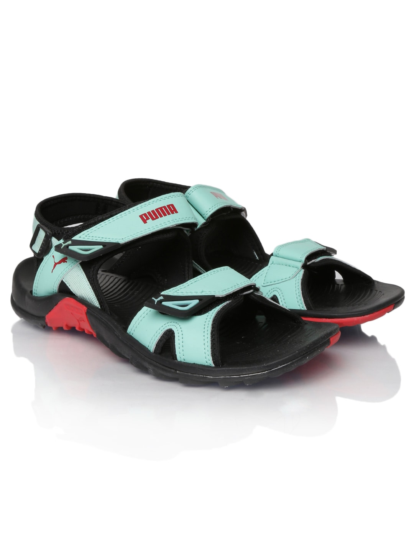 094105f48b31 Puma Black And Green Sandal - Buy Puma Black And Green Sandal online in  India