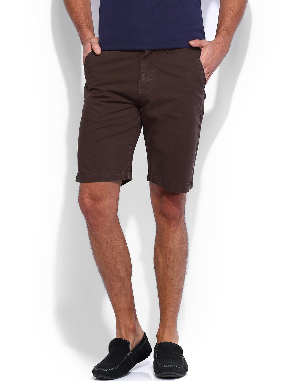 IZOD Men Brown Shorts