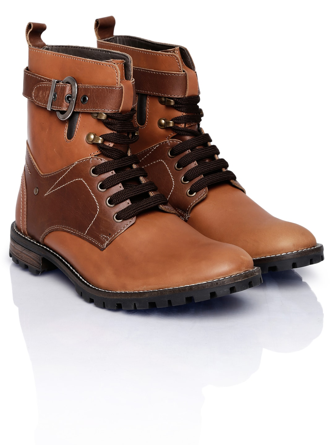 Numero Uno Men Tan Brown Boots
