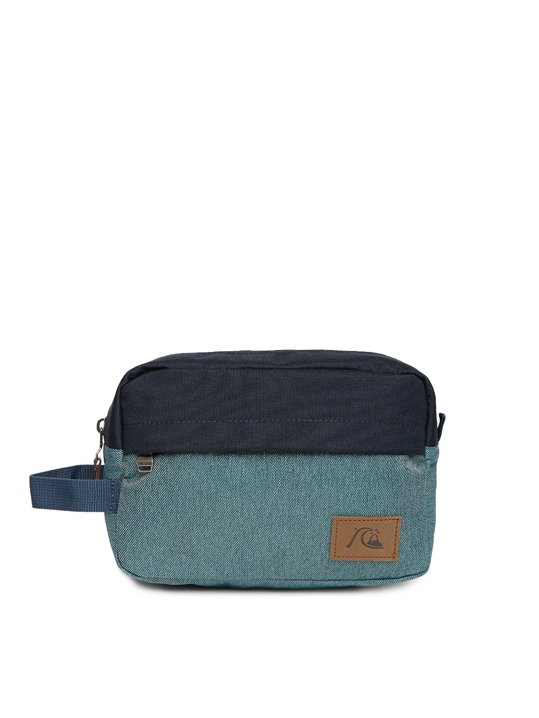 Quiksilver Men Blue Denim Travel Bag