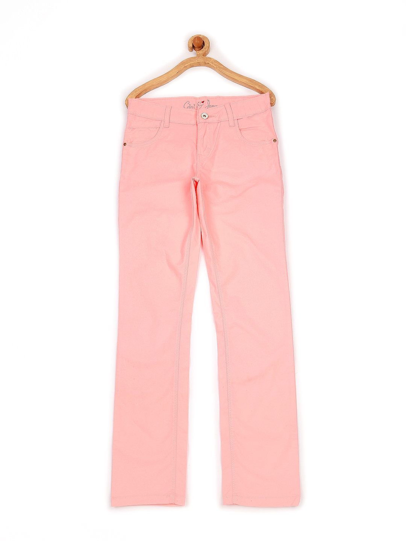 Gini and Jony Girls Pink Trousers