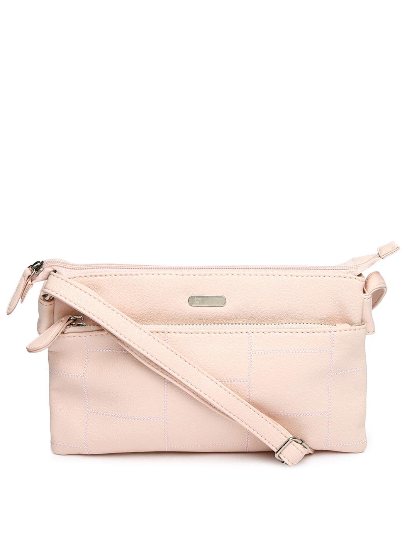 Buy Lavie Light Pink Sling Bag - Handbags for Women | Myntra