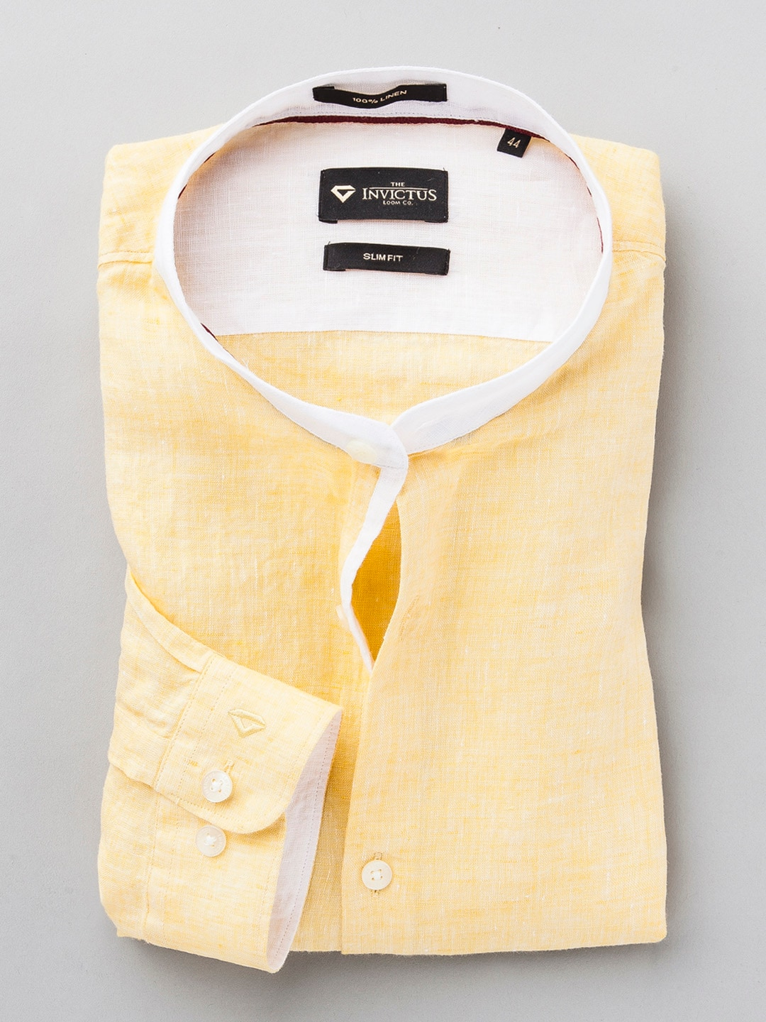 Yellow Linen Shirts for Men