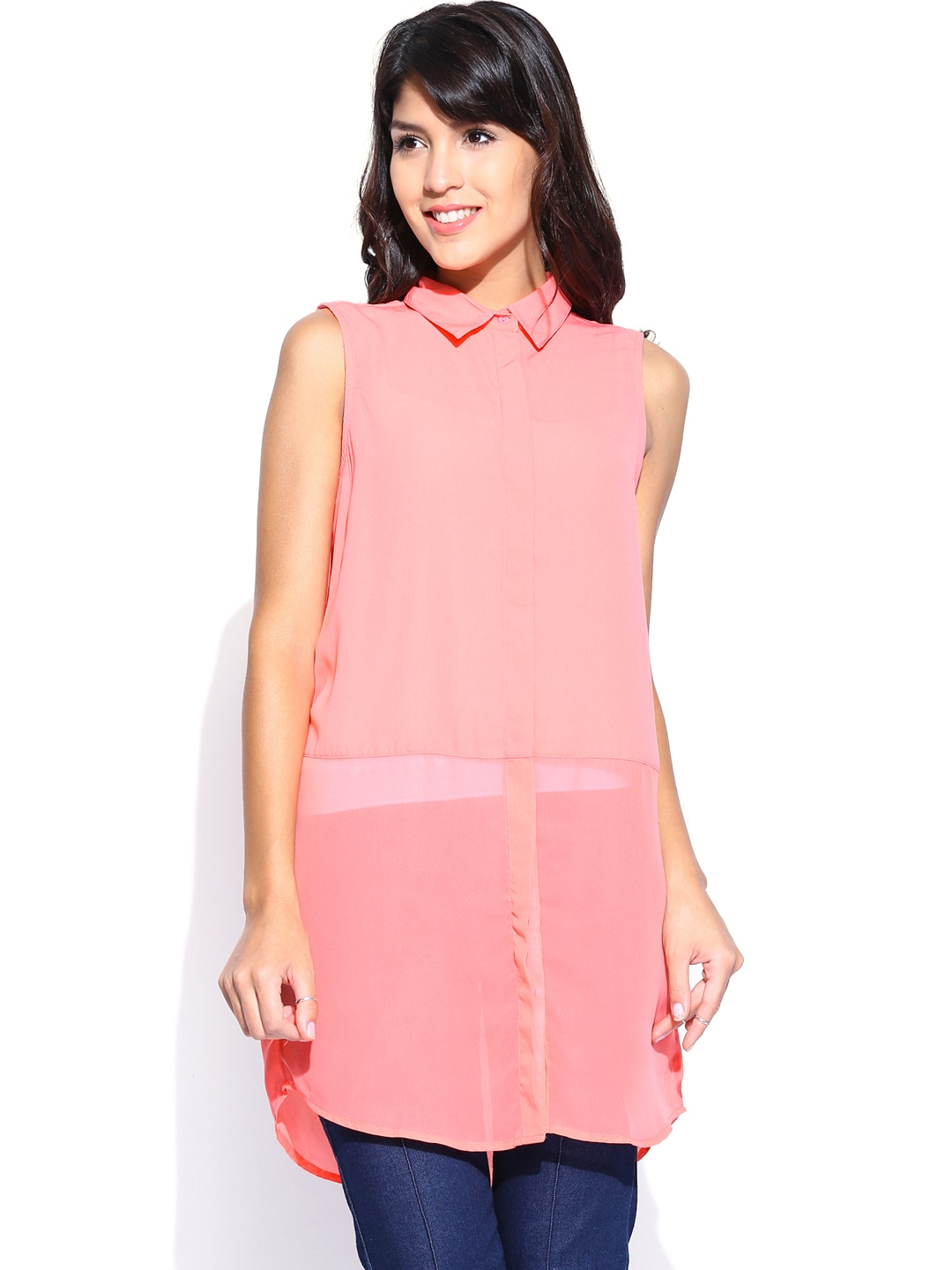 ONLY Women Pink Tunic