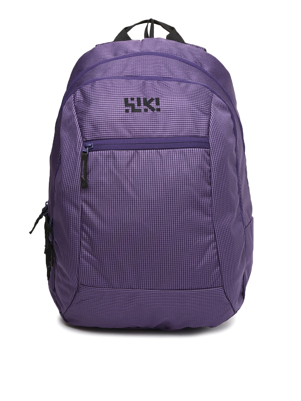 Wiki by Wildcraft Unisex Purple Skitch Backpack