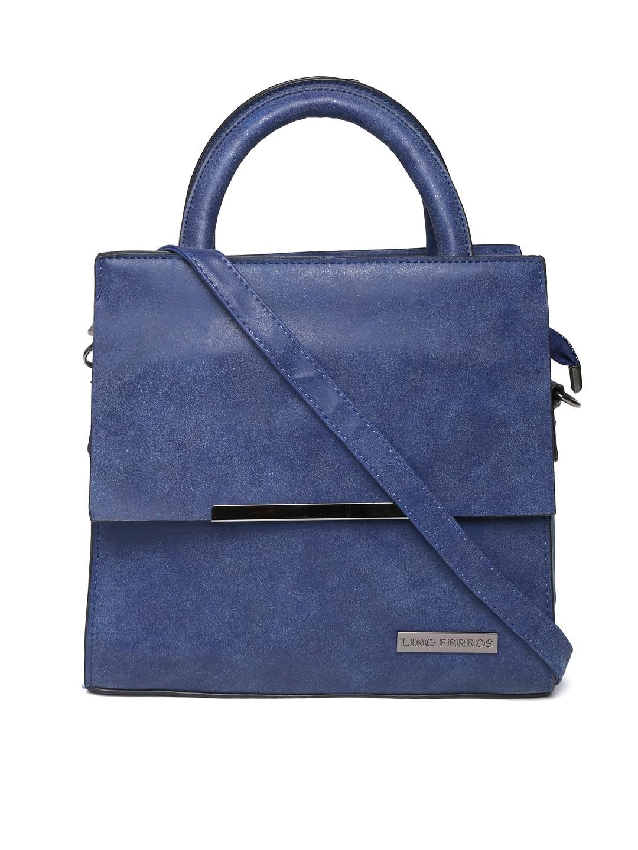Lino Perros Blue Handbag