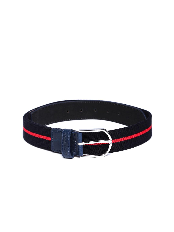 Lino Perros Men Navy & Red Belt
