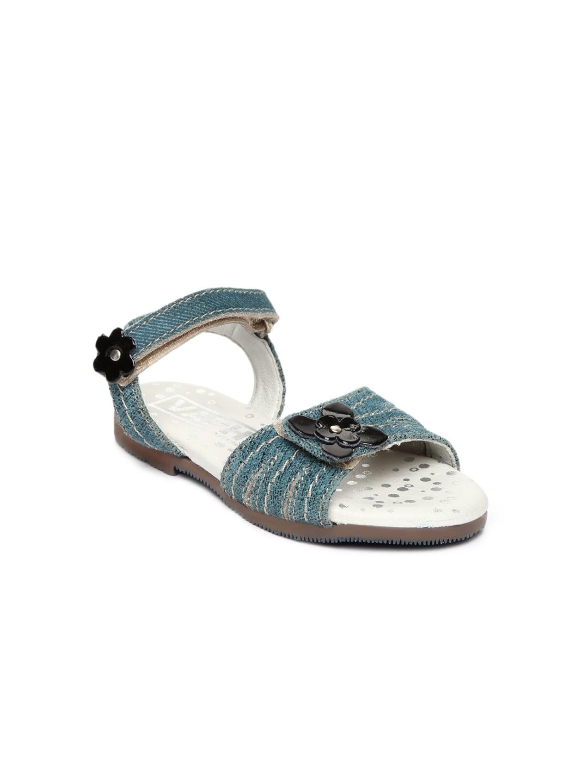 VAPH Girl Blue Alda Leather Flats
