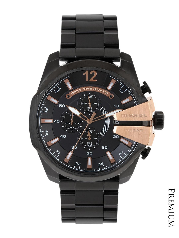 DIESEL Men Black Dial Watch DZ4309I