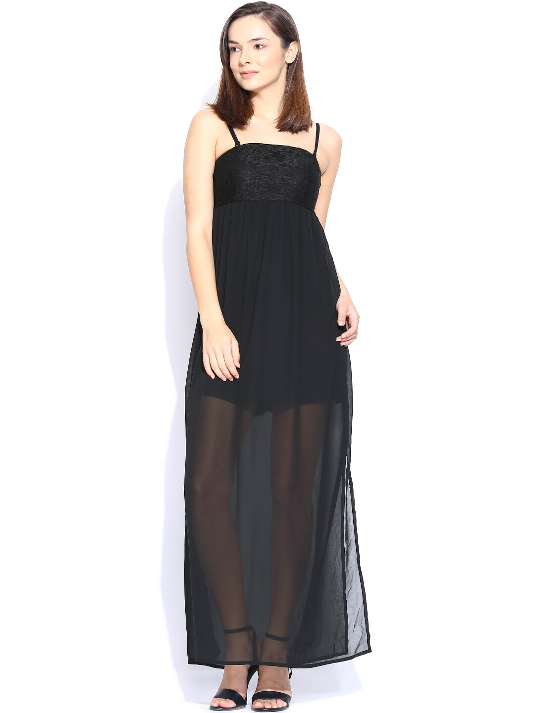 ONLY Black Maxi Dress