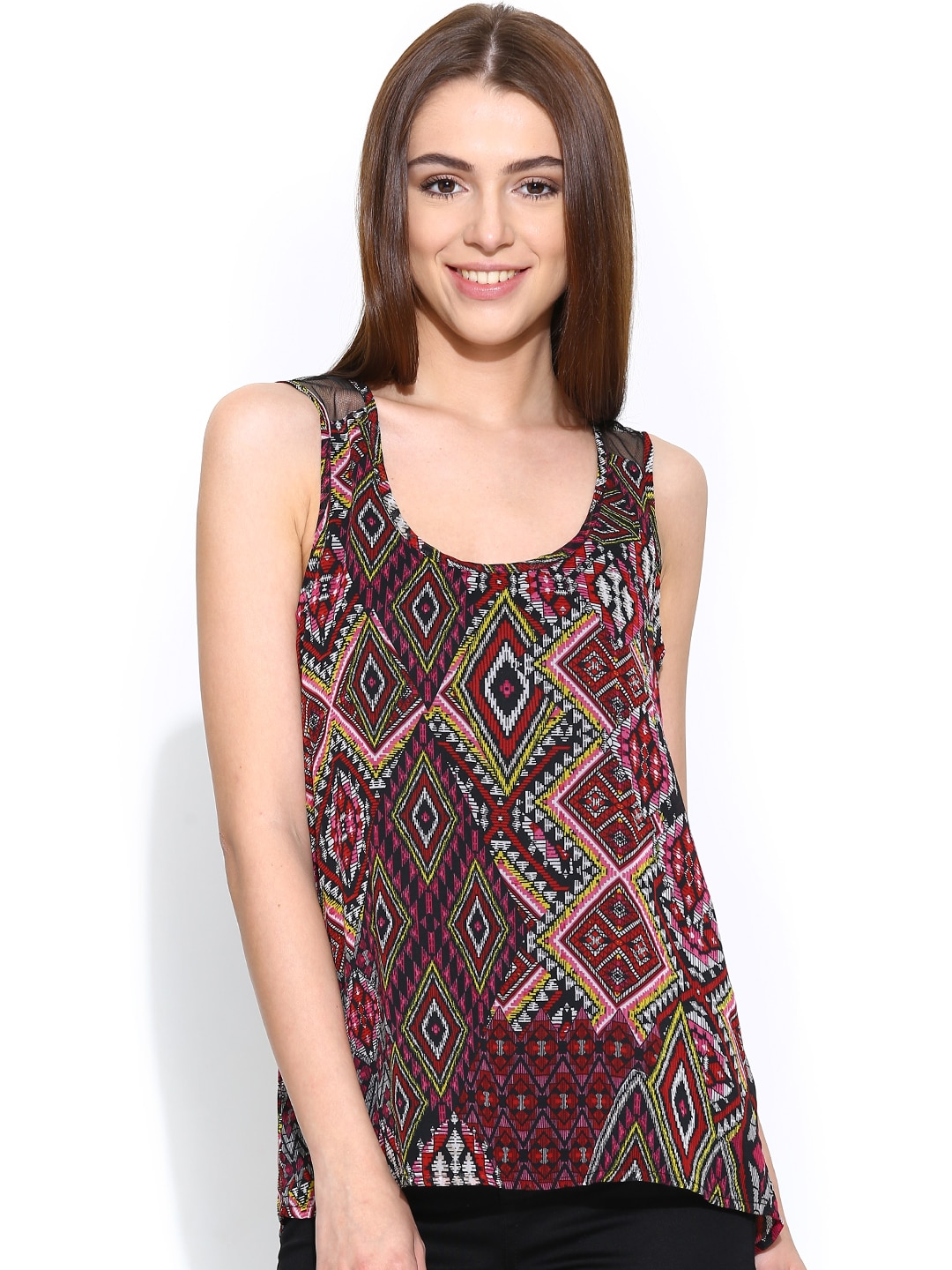 ONLY Multicoloured Printed Top