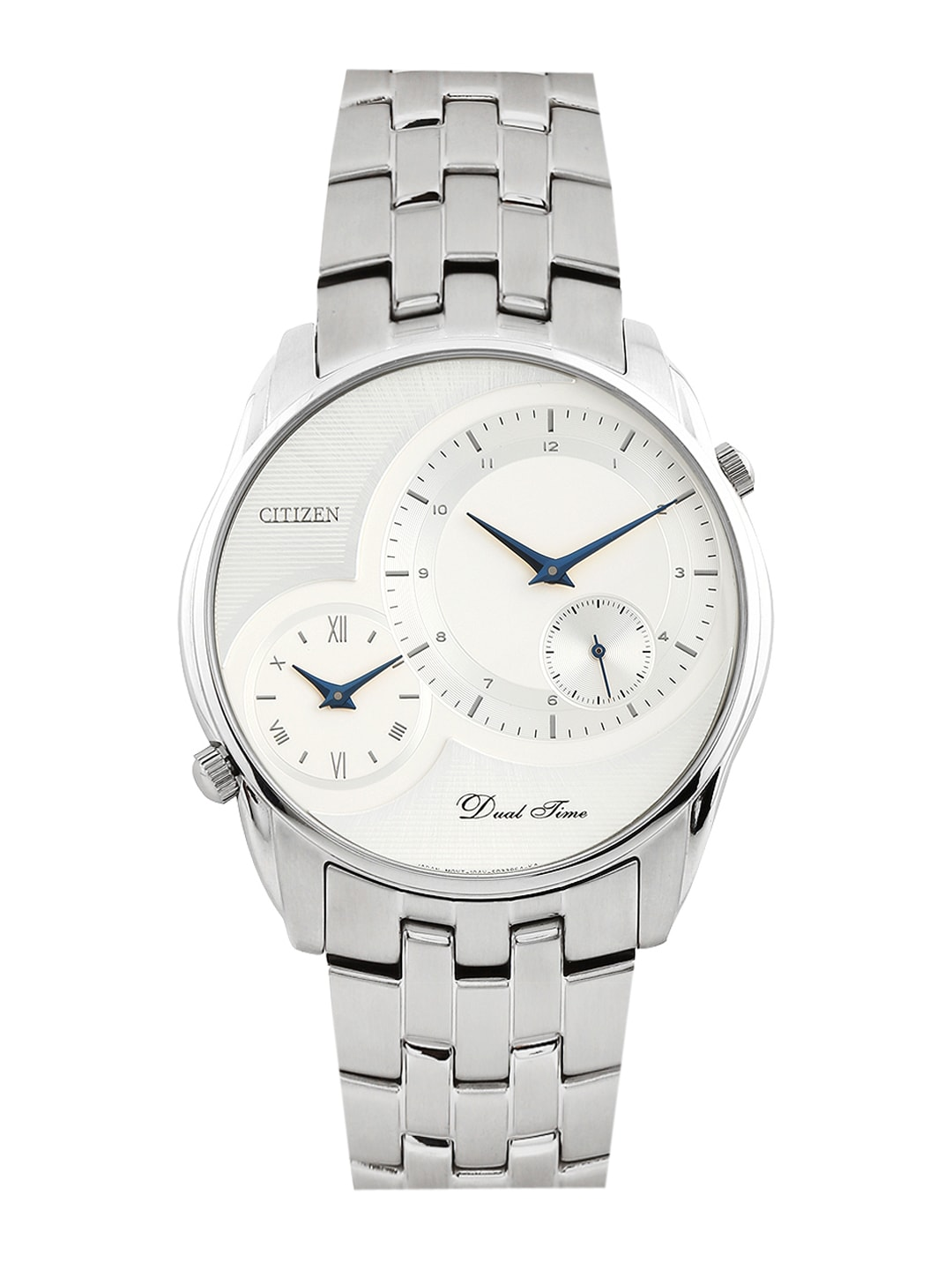 Citizen Men White & Silver-Toned Dial Watch AO3005-56B