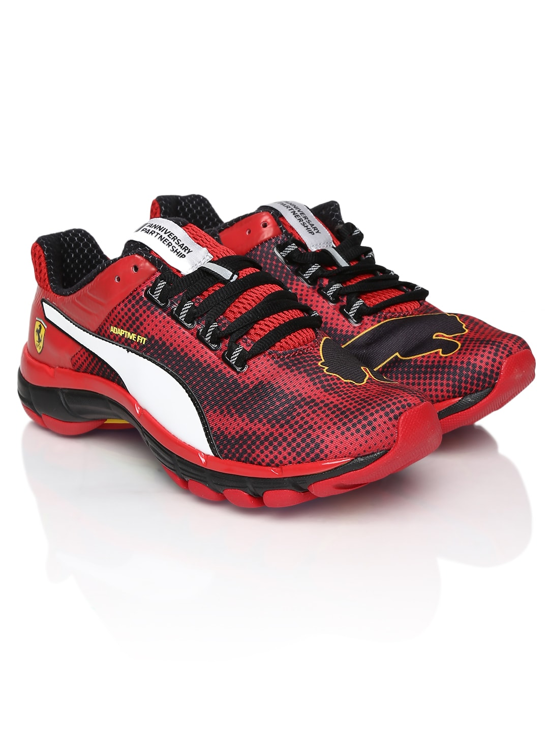 Buy Puma Men Red & Black Mobium Elite Speed Ferrari ...