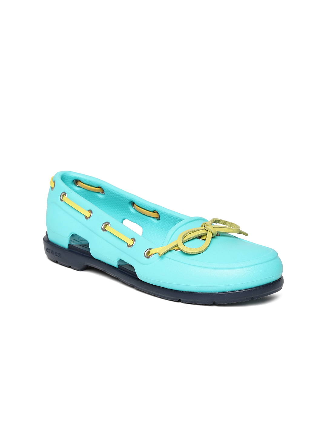 Crocs Women Sea Green Boat Shoes
