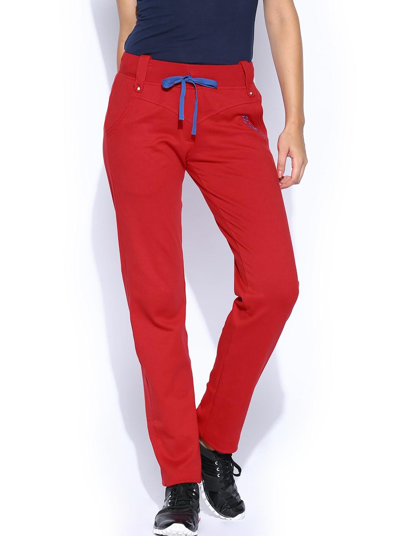 SDL by Sweet Dreams Women Red Lounge Pants F-LAP-6151