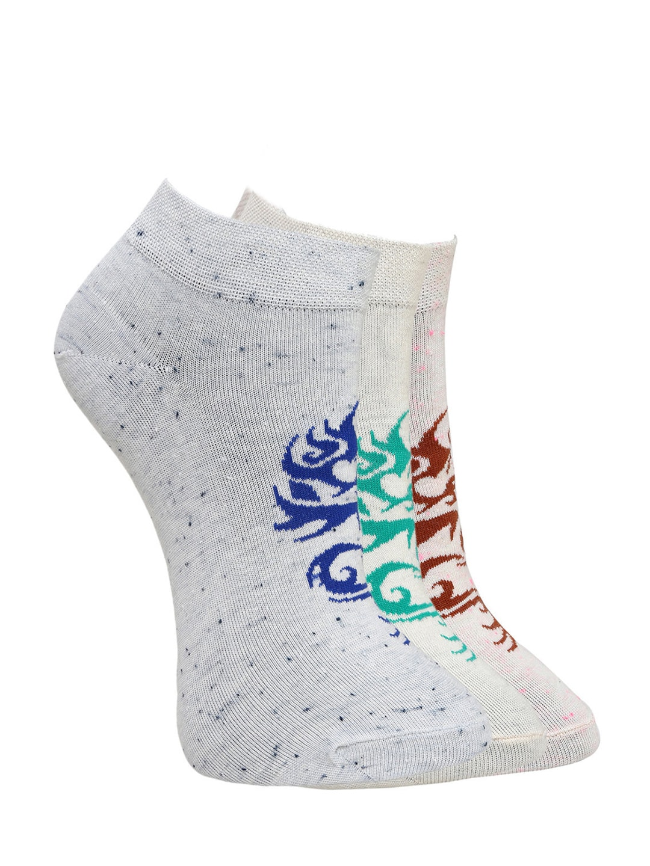 MARC Women Set of 3 Grey Socks