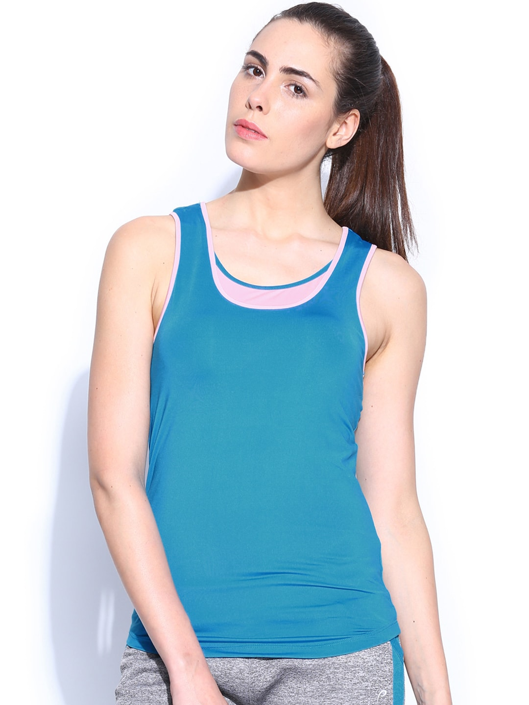 Proline Active Women Blue Tank Top