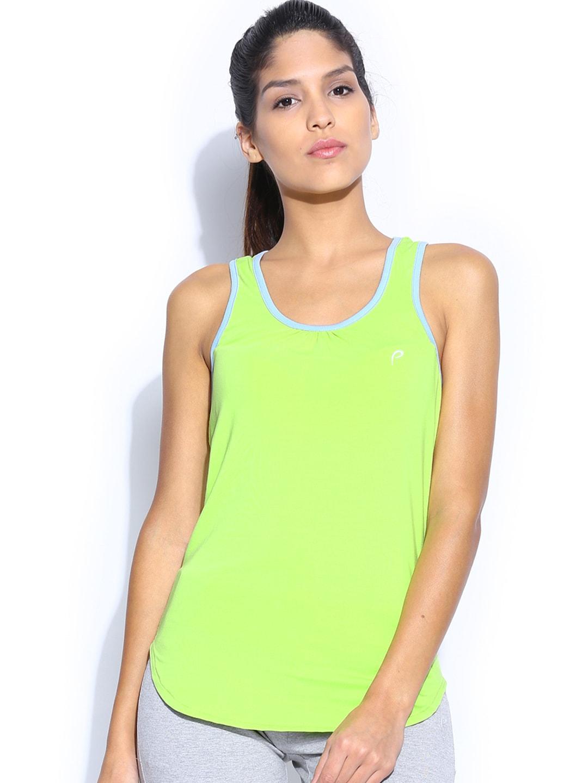 Proline Active Women Lime Green Tank Top