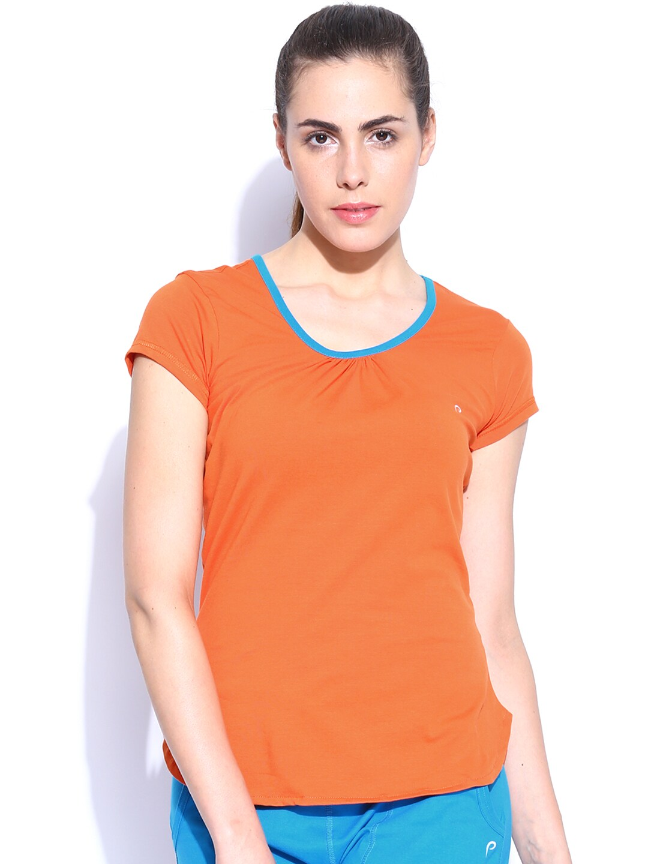 Proline Women Tops T Shirts Price List In India 15 November 2018 Blouse Off Shoulder Wanita Charming Pink Fuchsia L 50off Active Orange Shirt
