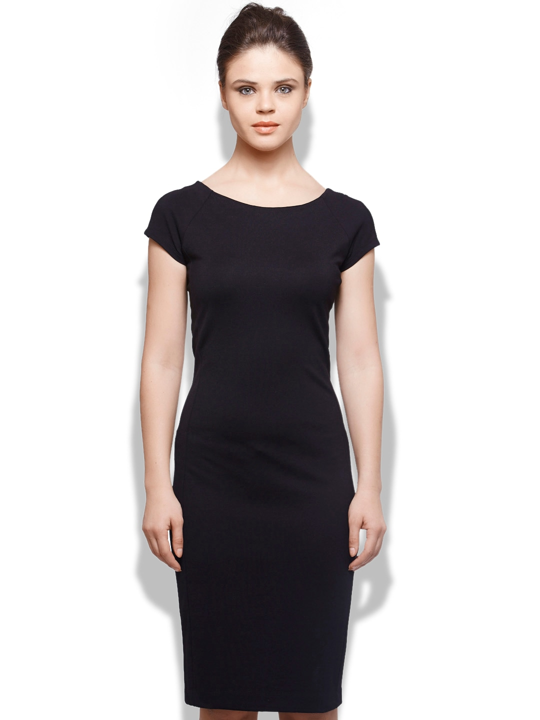 United Colors of Benetton Black Bodycon Dress