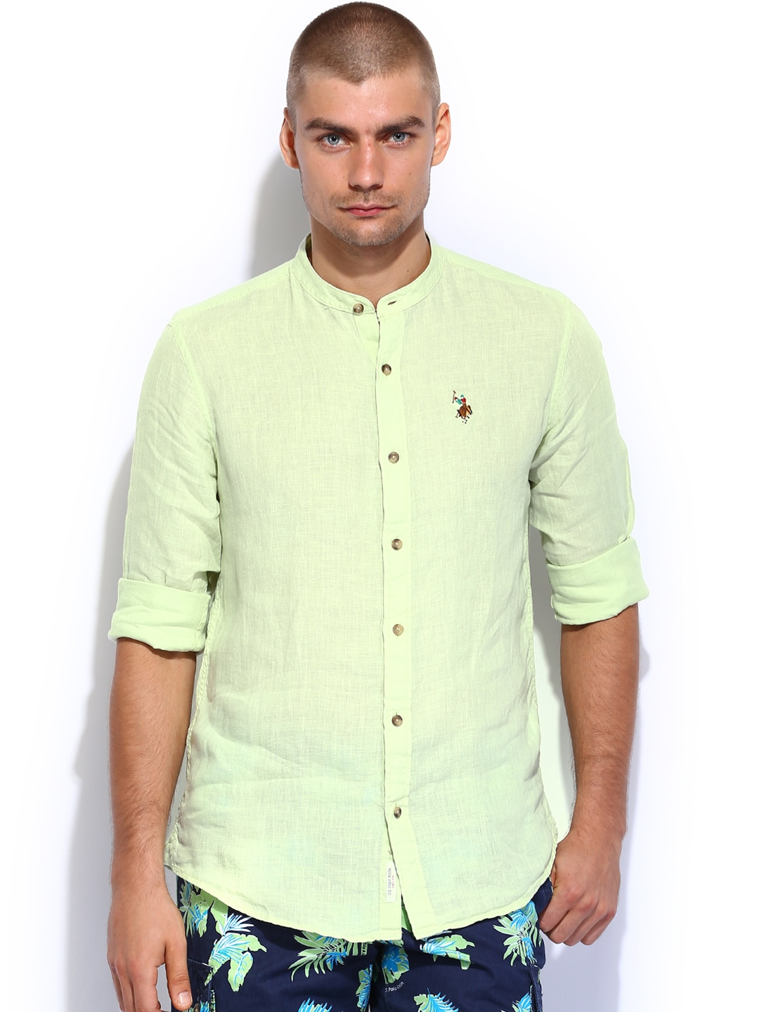 0b56f67c6 U.s. Polo Assn. Linen Shirts - Buy U.s. Polo Assn. Linen Shirts online in  India