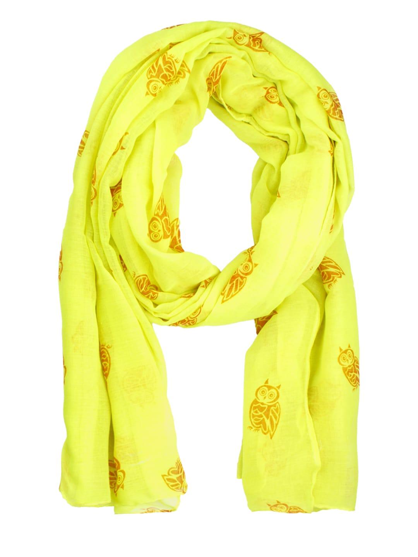 NOISE Yellow & Orange Printed Stole