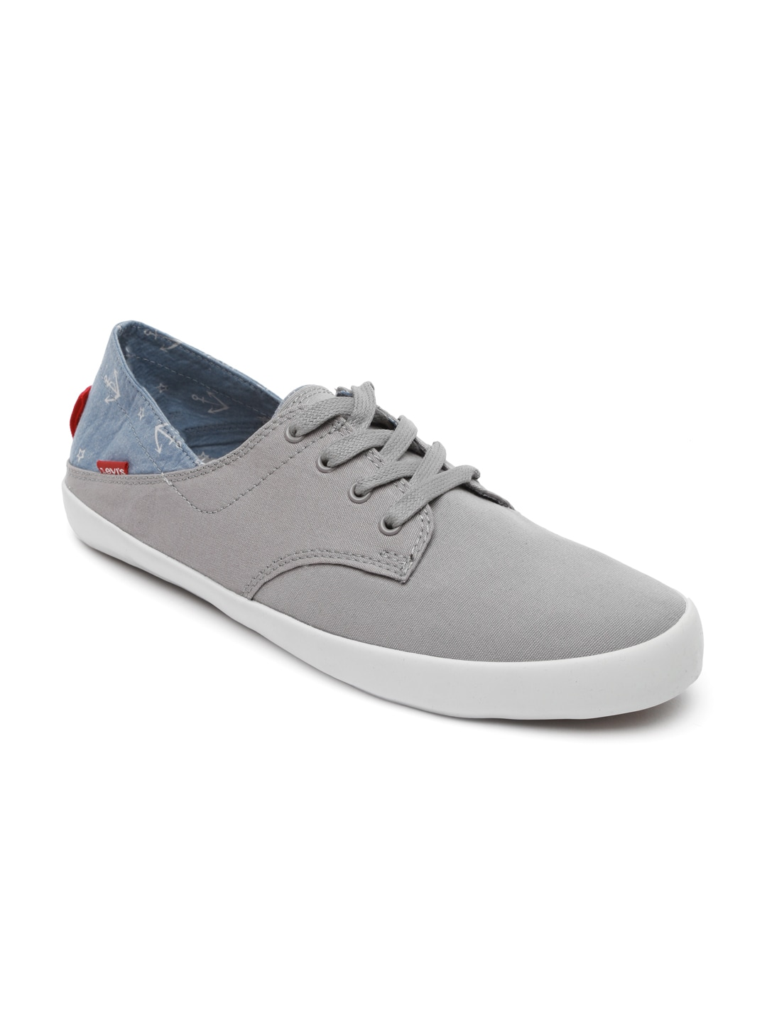 buy levi s grey casual shoes 632 footwear for