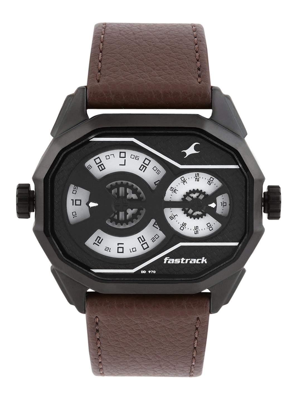 Fastrack Men White Dial Watch 3094NL01