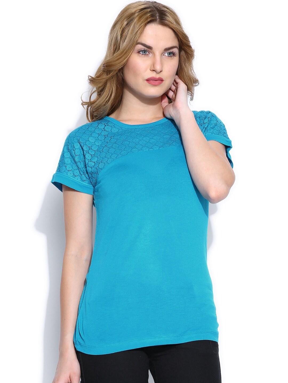 Wrangler Women Blue Top