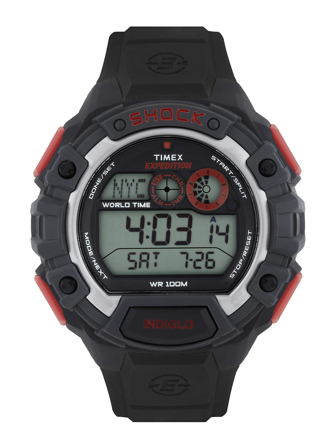 Timex Expedition Men Black Digital Watch T49973