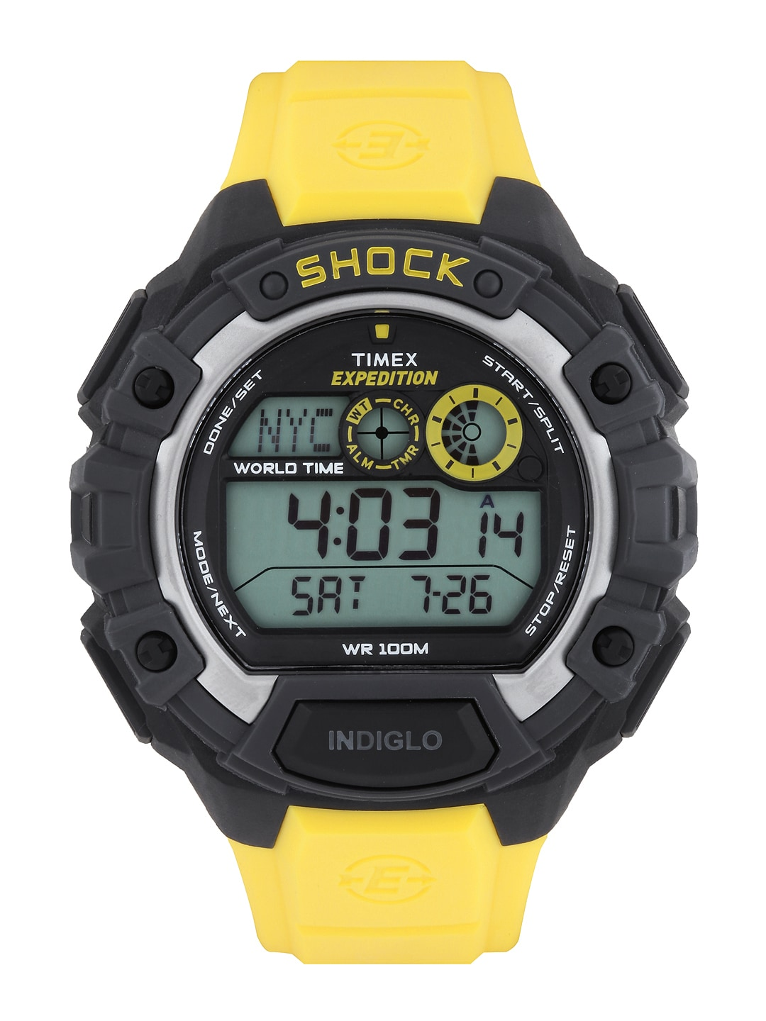 Timex Expedition Men Yellow Digital Watch T49974
