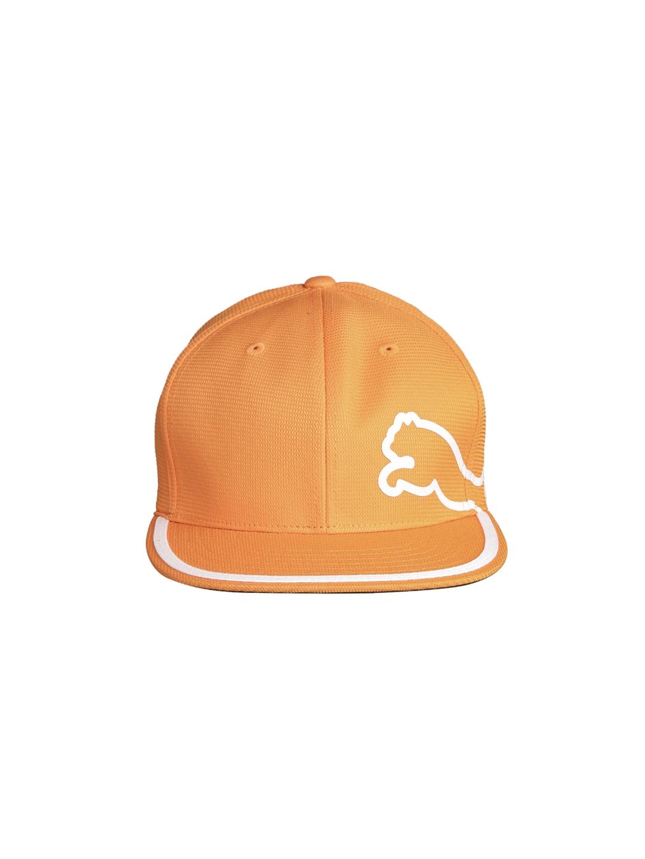 Puma Men Orange Perf Monoline 210 Cap