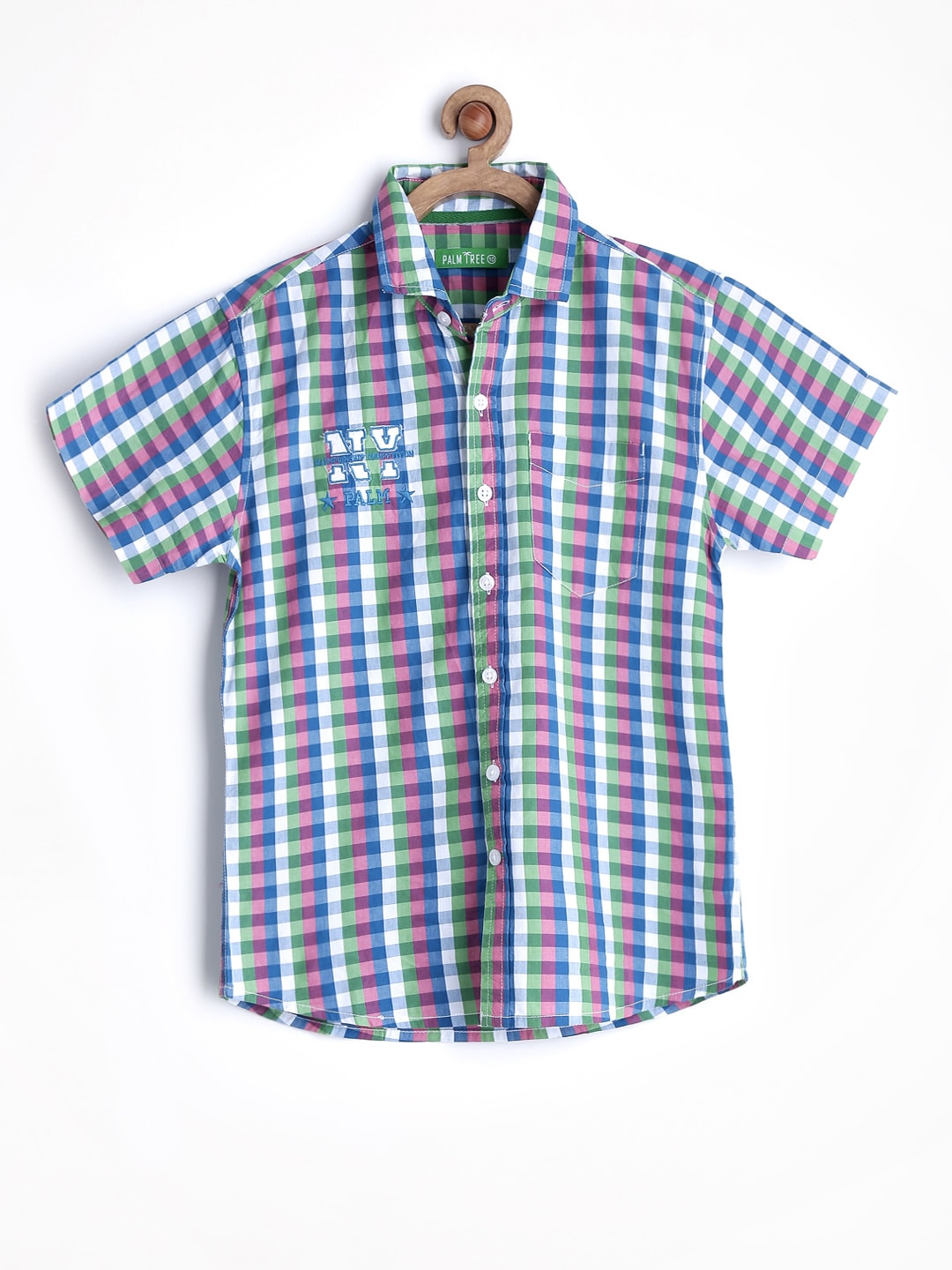 Gini and Jony Boys Multicoloured Checked Shirt