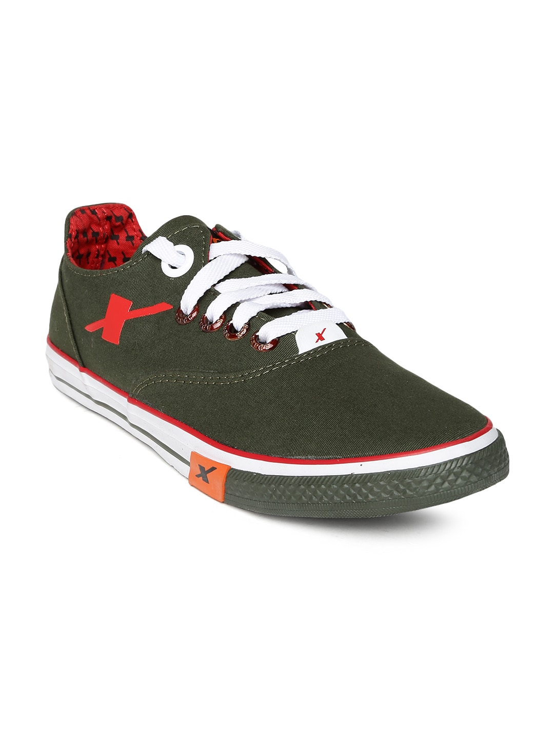 Sparx Men Olive Green Casual Shoes