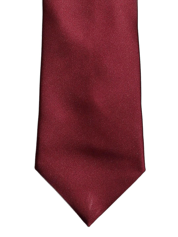 Tossido Maroon Tie