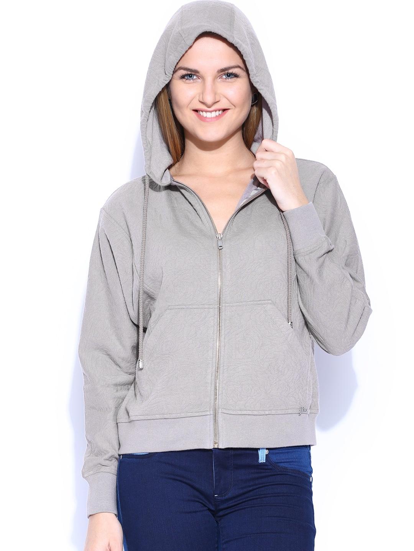 GAS Grey Nyela Hooded Sweatshirt