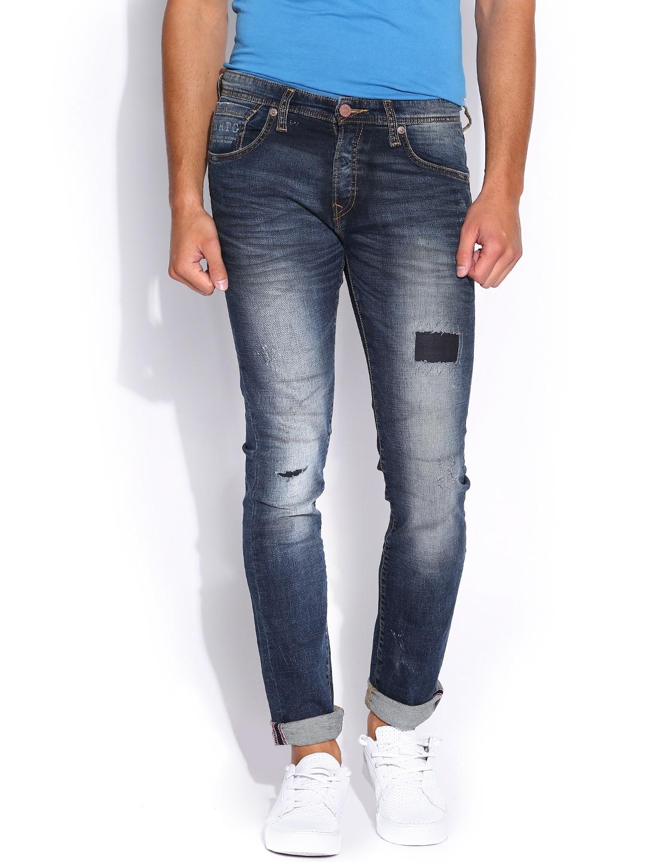 Pepe Jeans Blue Vapour Slim Fit Jeans