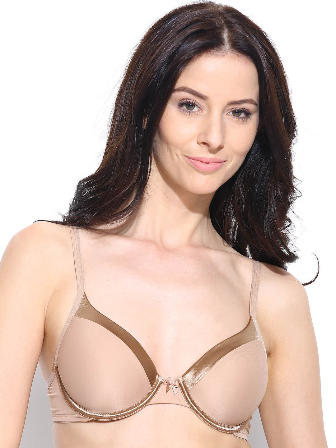Amante Nude-Coloured Full-Coverage T-shirt Bra BGSE31