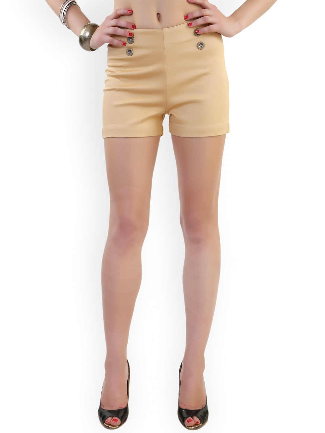 ca44faded7c Women Brown Shorts - Buy Women Brown Shorts online in India