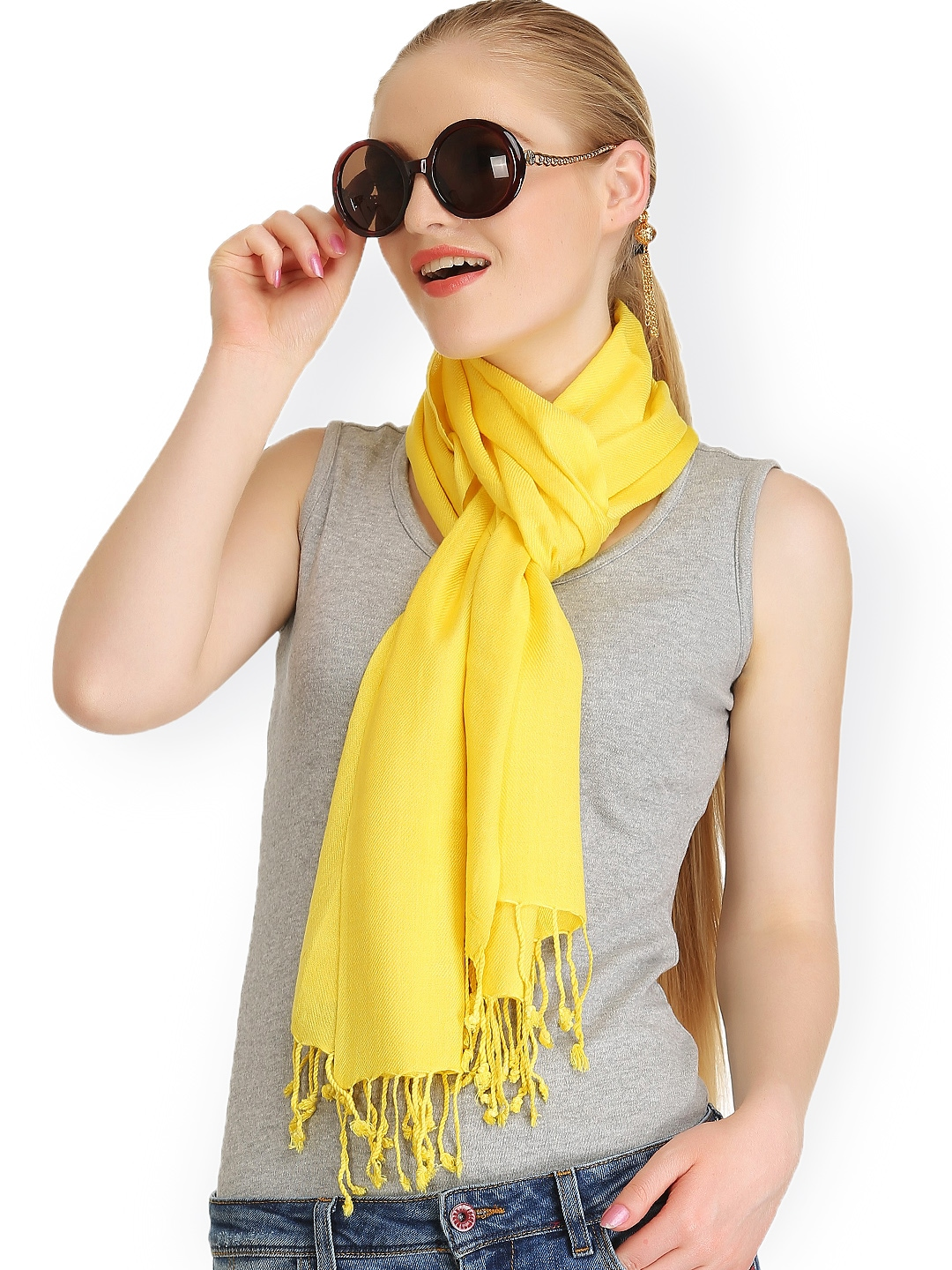 CoolThreads Women Yellow Stole