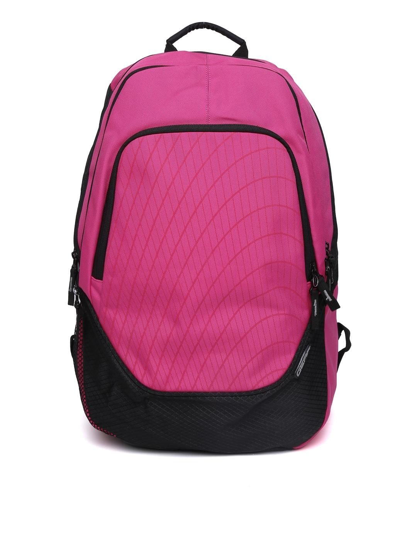 Gear Unisex Pink & Black Waterproof Backpack