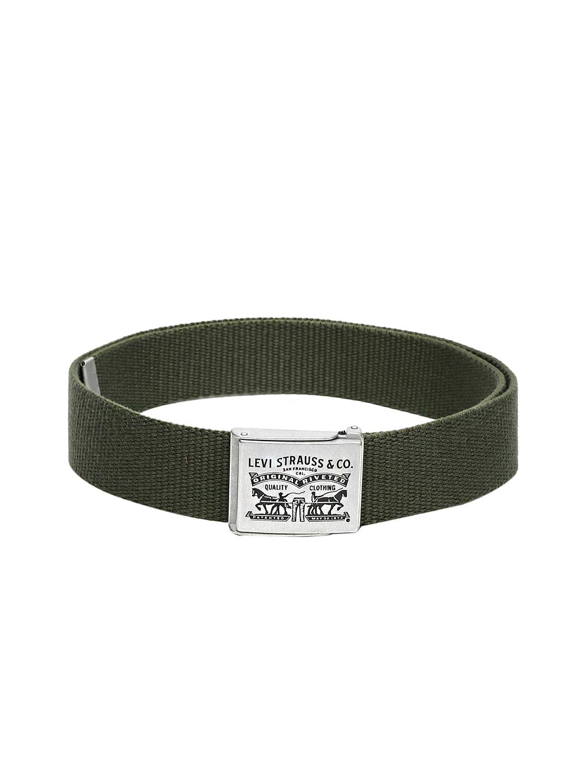 Levis Men Olive Green Belt