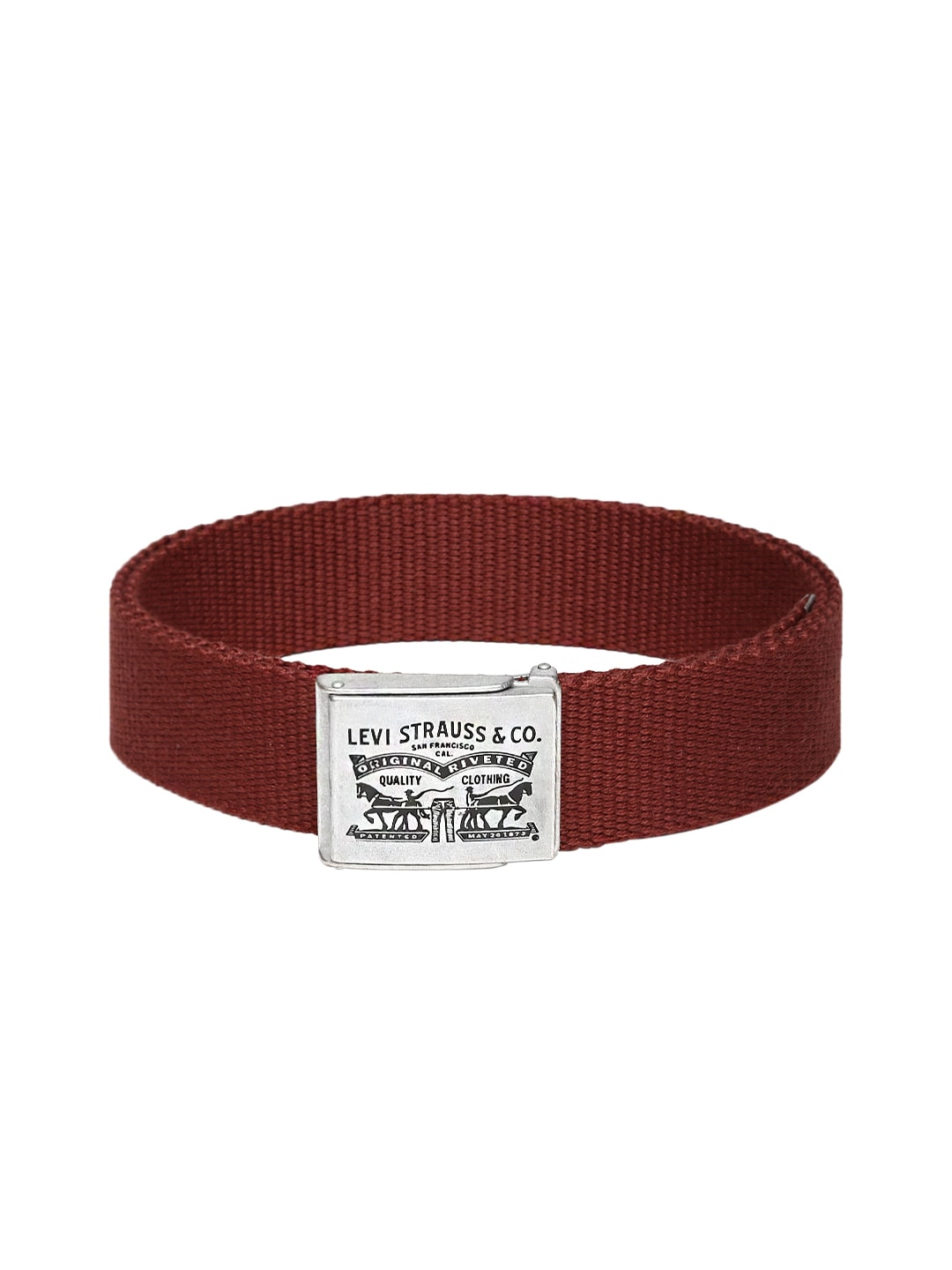 Levis Men Maroon Belt