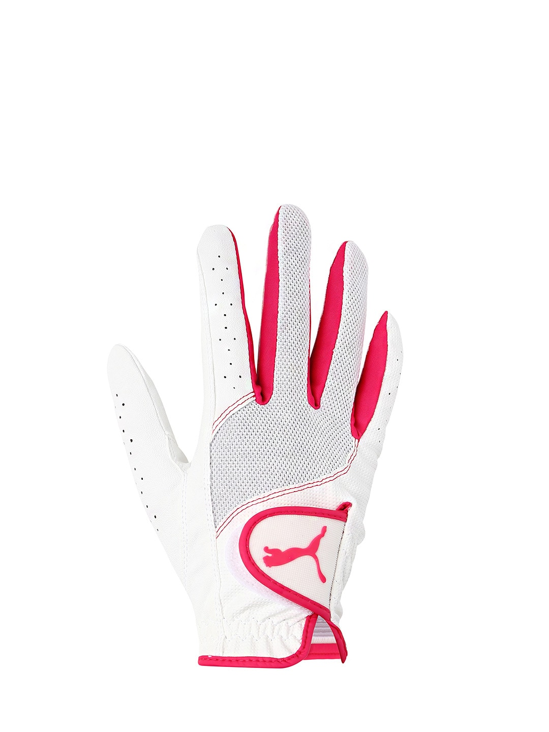 PUMA Women White Sport Performance Glove